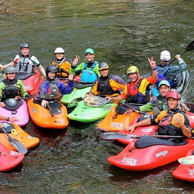 Buenos amigos de kayaking