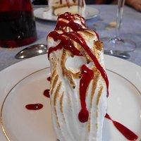 Le dessert :omelette norvégienne