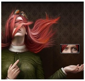 Divino tesoro. Jaime Sanjuán (pintura digital)