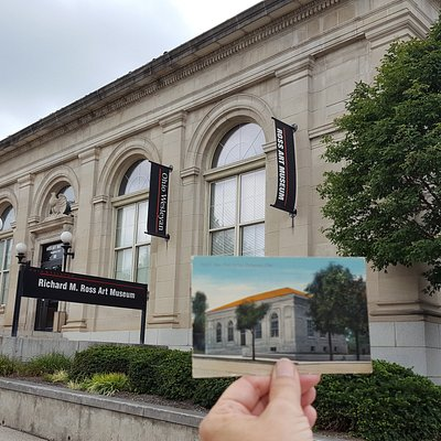 The Ross Museum was built in 1911 as the Post Office for Delaware!