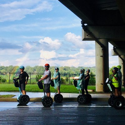 Somewhere over the rainbow, you'll find a SEGWAY !