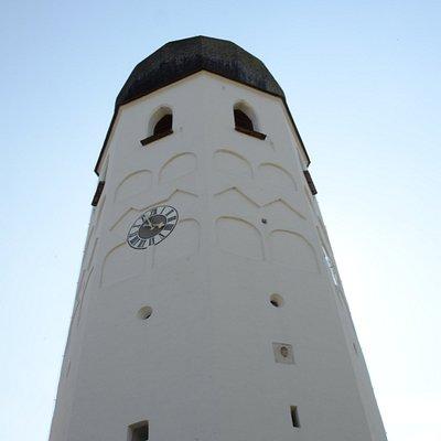 Przyklasztorna dzwonnica na wyspie Herreninsel