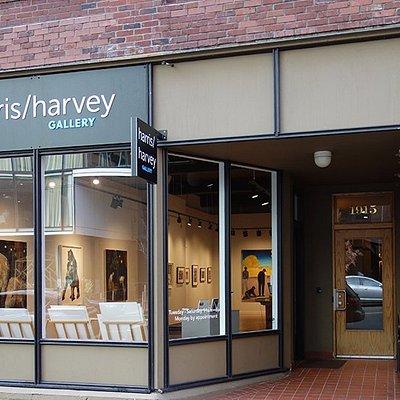 Exterior of Harris Harvey Gallery
