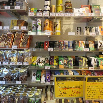 Sweet smal shop for chocolate
