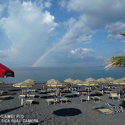 Lido Full Moon sulla splendida spiaggi di Fiuzzi (Praia a Mare)