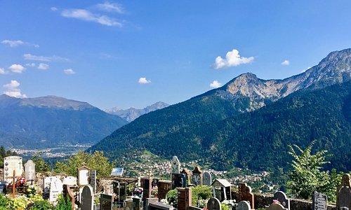 Friedhof/Aussicht