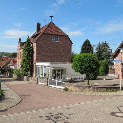 Das Badische Schulmuseum Karlsruhe liegt im Stadtteil Palmbach.