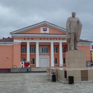 Lenin vor Theater