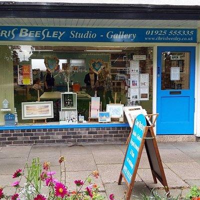 Chris Beesley studio gallery