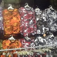 CAMOUFLAGE Crazy Colors! T-shirt Pant Short Hoodie Hat and more.