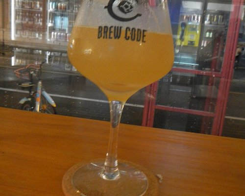 Chinese craft beer at brew code, Shanghai