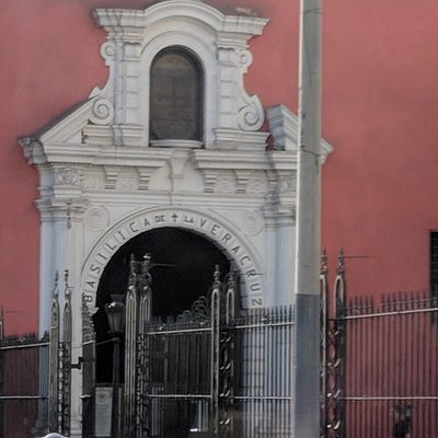 Exterior of the Basiica of the Vera Cruz
