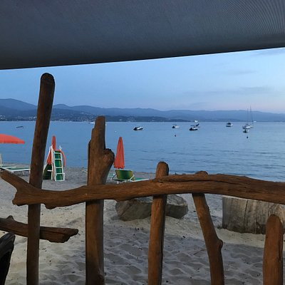 Jolie plage à Ajaccio