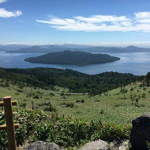 屈斜路湖の絶景