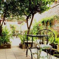 Garden padio seating