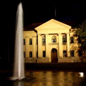 Prinz Carl Palais am Abend