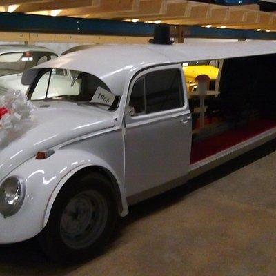 VW Wedding limo