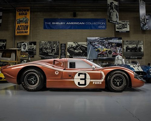 1967 FORD GT40 MK IV J-7 in the Shelby American Collection