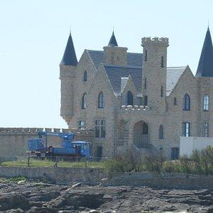 il castello da fuori