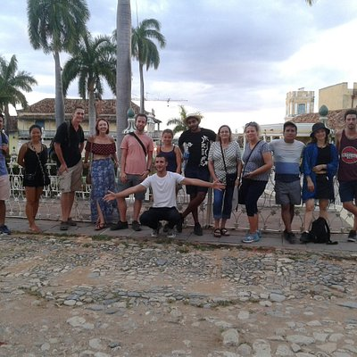 grupo de amigos del freetour trinidad 😊