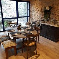 Restaurant Pigassou à Bruniquel