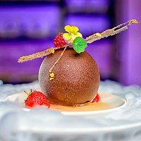 CHOCOLATE GLOBE-Glob de ciocolată