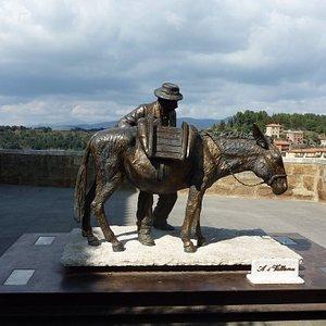 """Statua """"Il Villano"""""""