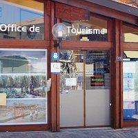 Porte d'entrée de l'office de tourisme de Vieux Boucau