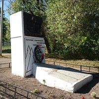 """Памятник партизанскому отряду """"Победа"""""""