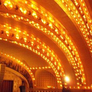 inside of auditorium