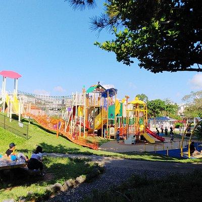 浦添大公園の遊具