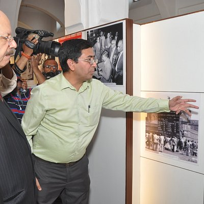 images of past elections are being seen by Chief Election Commissioner, India