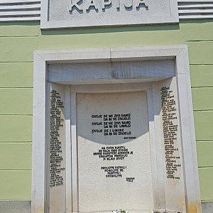 Tuzla Massacre Memorial