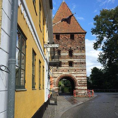 Mølleporten op ad Møn Museum
