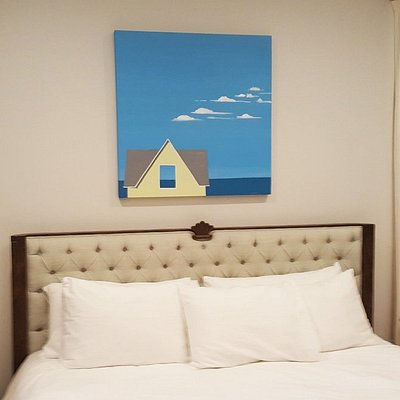 """Blue Horizon"" installed in a Cape Cod home."
