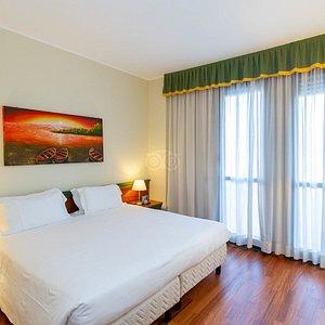 The Standard Room at the Hotel Raffaello