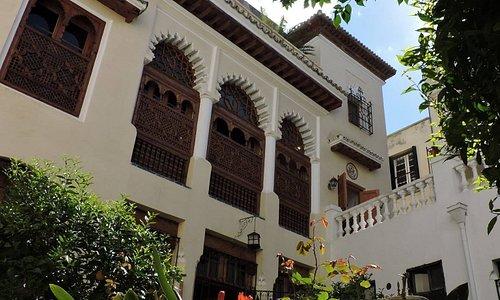 Moorish Pavilion. Tangier American Legation