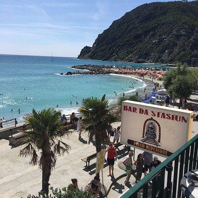 Photos taken from the train travelling from La Spezia to Monterosso Al Mare in the Cinque Terre.