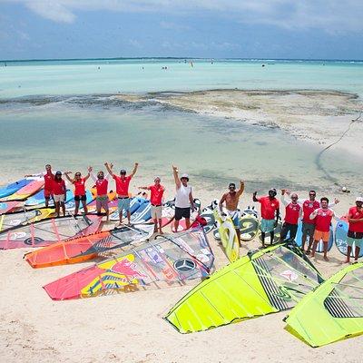 Bjorn Dunkerbeck Pro Center in Bonaire