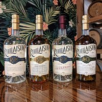 Roulaison's core lineup of rum!