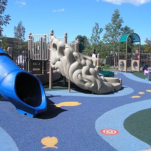 Slides in preschool area
