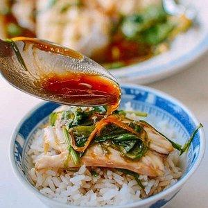 delectable fish dish