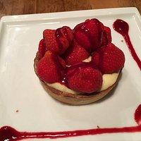 tarte fraise basilic