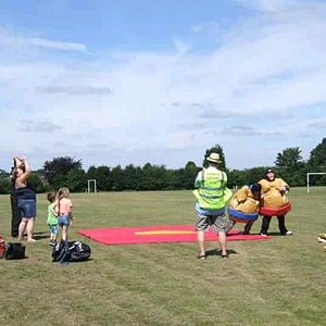 Community day at Hillmorton rec