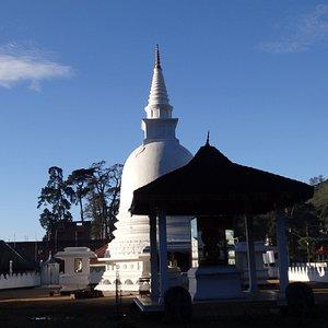 Buddhist Temple near the Grand Hotel roundaboard