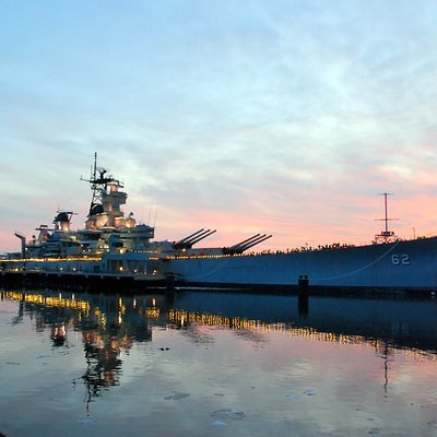 Tour our nation's largest battleship, now a museum on the Camden Waterfront, NJ