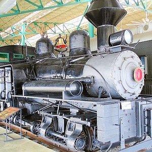 1906 geared locomotive