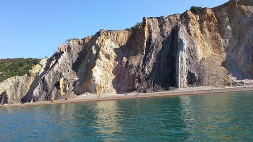 Alum Bay colours