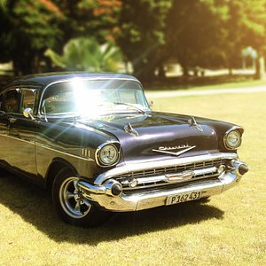 Our 1957 Chevy
