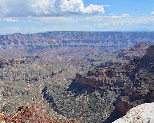 Wahlalla Overlook,North Rim, Grand Canyon